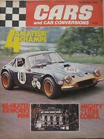 Cars & Car Conversions Magazine 02/1972 Featuring Ac Cobra, Zita Zs - cars and car conversions - ebay.co.uk