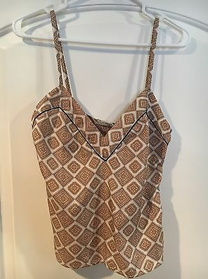 PRADA 100% Silk Camisole, Women's Size 34 (S/M). Made in Italy. NEW NWT.