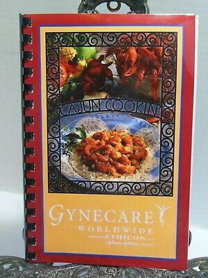 Gynecare Ethicon Johnson Johnson Cajun Cooking Cookbook Rare