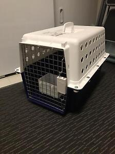 Pet carrier travel crate plus water/food container Queanbeyan Queanbeyan Area Preview