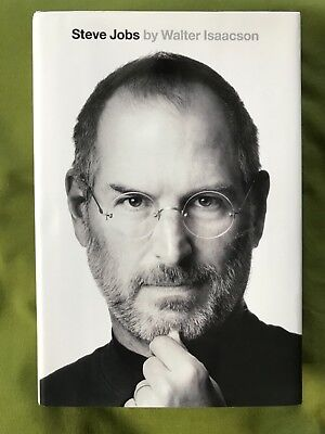 LIKE NEW Steve Jobs by Walter Isaacson (2011, Hardcover) EXCELLENT 9781451648539