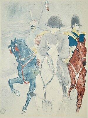 e73292b3a6b Henri de TOULOUSE-LAUTREC - Lithographie monogrammée - Napoléon