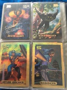 1994 marvel Masterpieces cards by Fleer