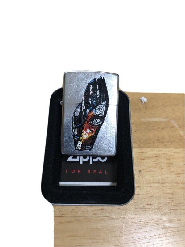 zippo lighter-zippo Race Car-2002 No Lid