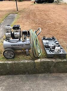 Air Compressor and Senco Deckmaster Coil Nailer Coogee Eastern Suburbs Preview