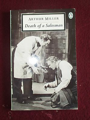 Arthur Miller DEATH OF A SALESMAN inc original London cast list Penguin PB 1961