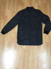 I LOVE UGLY EXTENDED WOOL BOMBER CHARCOAL SIZE L Mundaring Mundaring Area Preview