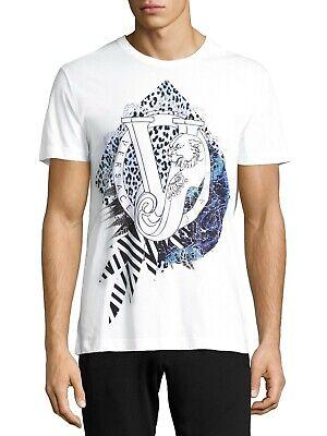 VERSACE JEANS VJ Print T-shirt White