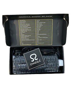 Omega Black 600W Digital Dimmable Ballast 660w 600w 400w 250w Hydroponics