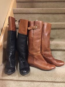 Women's all leather Steve Madden boots size 8 Cambridge Kitchener Area image 2