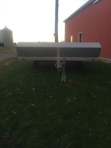 10ft Open Snowmobile Trailer London Ontario image 2