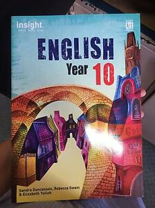 Insight English Year 10 textbook Albert Park Port Phillip Preview