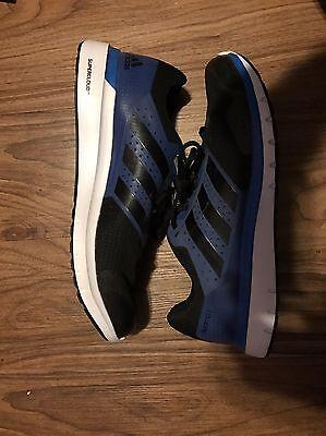 New Men's Adidas DURAMO 7 Size 10.5  Blue Black Running Shoes
