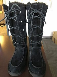 Brand New Tall Lace Up Uggs