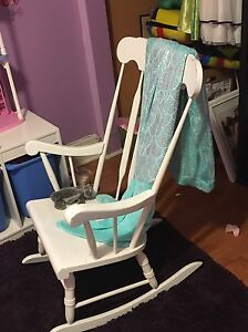 Rocking chair and bed rail