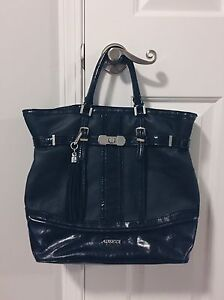 GUESS Black Tote Bag with Tassel  Strathcona County Edmonton Area image 1