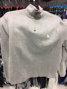 Brand new with tags men's polo sweater 80$