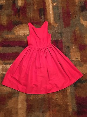 """Kate Spade Red Dress """"Take A Walk On The Wild Side"""" Size 2 NWT $448 MSRP"""