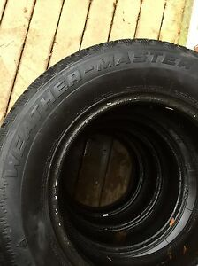 Full set of Cooper Winter Tires ($60 for all 4) (no rims) Kitchener / Waterloo Kitchener Area image 3
