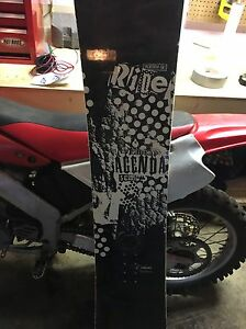 Option board with Ride bindings and Ride board Edmonton Edmonton Area image 2