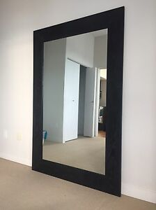 Custom full length leaning Mirror 6ft x 4ft solid wood!