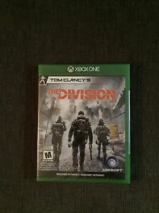 """Brand New """"The Division"""" for Xbox One"""