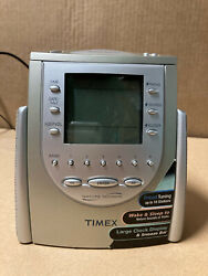 Timex T309T - Alarm Clock: Nature Sounds, AM/FM Radio 6 Presets, Dimmable