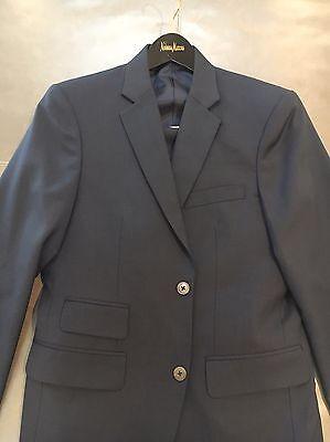 Nita Fashions Hong Kong Bespoke Mens Slim Fit Wool Mohair Suit 38S 30x28 $1595