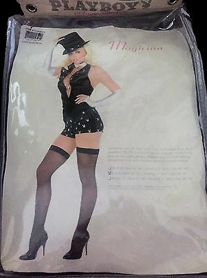 Cute Magician Costume (Adult Playboy Woman's Cute Magician Costume Sexy Small 6-8 *missing)