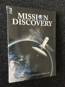 3-DVD Mission Discovery Space Shuttle. NEW!