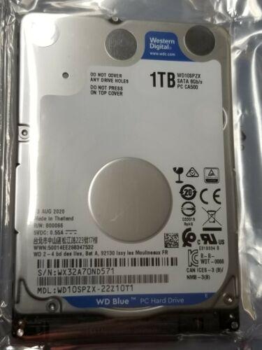 """NEW 1TB WD Blue WD10SPZX 2.5"""" 5400rpm SATA Laptop Hard Drive  notebook internal"""