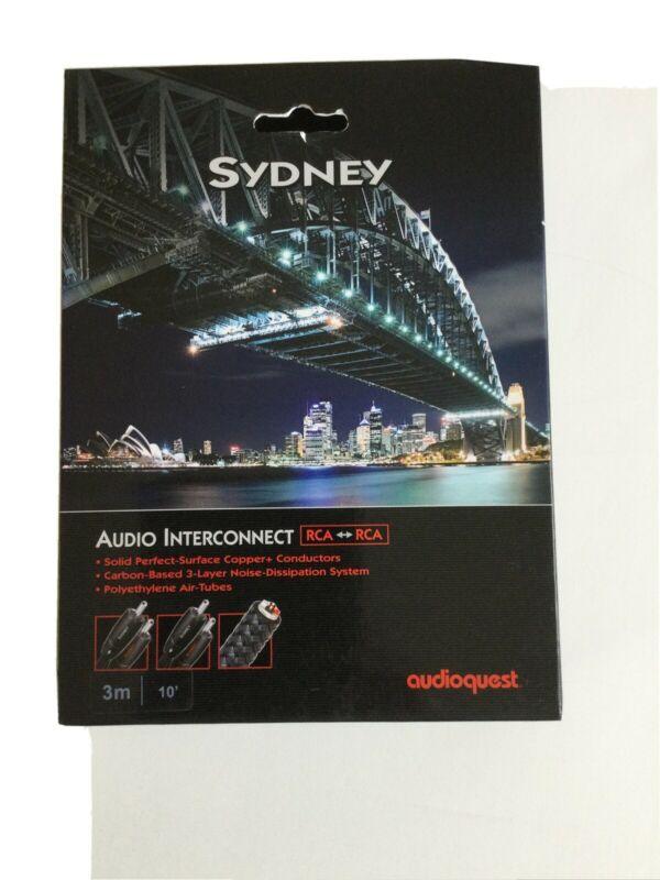 AudioQuest Sydney RCA-TO-RCA 3 meter
