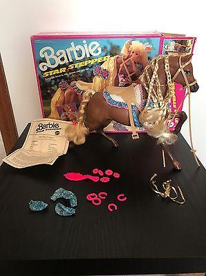Barbie Star Stepper Horse Vintage In Box