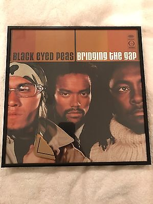 Music Memorabilia The Black Eyed Peas Bridging The Gap (2000) Cover Framed