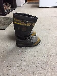 Used winter boots
