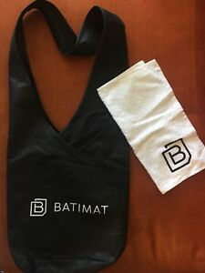 BATIMAT Cross the body bag and face towel for spa