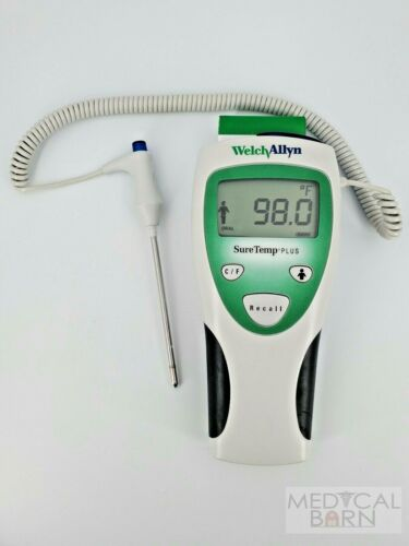 Welch Allyn Digital Thermometer SureTemp Plus 690 with Probe + 25 Probe Covers