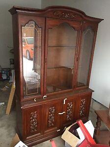 Hutch/ display cabinet