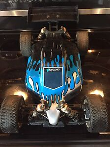 Rc brushless kyosho  1/8th racing buggy