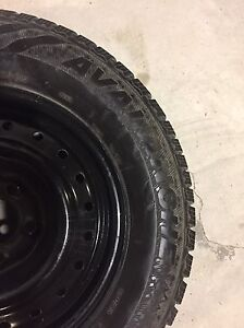 215-70-15 WINTER TIRES ON RIMS