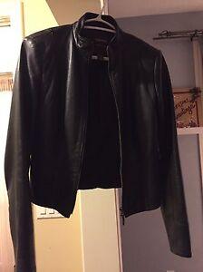 Danier female leather jacket