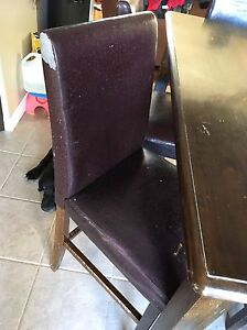 Free Pub table with 8 chairs