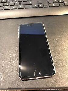 iPhone 6 Plus 64gb noir en condition A1 Bell avec Apple Care