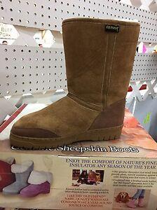 Old Friend brand genuine sheepskin boots