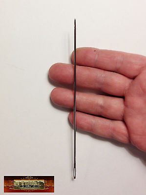 "M00867 MOREZMORE 6"" Sewing Needle Extra Long Doll Bear Upholstery Leather T20"