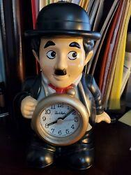 Vintage, Rare Charlie Chaplin Alarm Clock