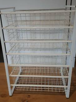 IKEA wire basket drawers (set of 4)