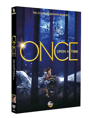 Once Upon a Time: The Complete Seventh Season 7(DVD,5-Disc)