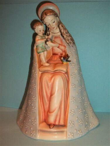 """Hummel """"Flower Madonna""""~ 8"""" T~ HUM #10/I-TMK 5 ~Blessed Mother & Child"""