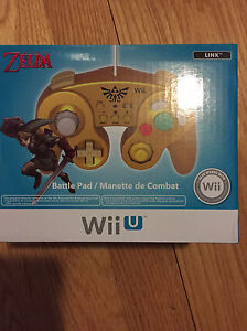 Legend of Zelda Wii U Controller